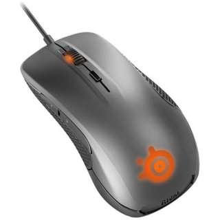 62350 ゲーミングマウス SteelSeries Rival 300 ガンメタルグレー [光学式 /6ボタン /USB /有線]