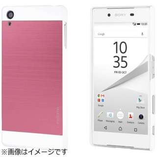 Xperia Z5用 INO METAL CASE ピンク INOXPZ5PK