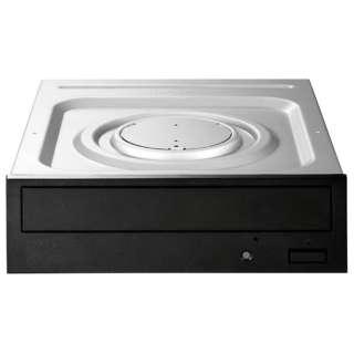 SATA接続 内蔵型DVDドライブ 24倍速書き込み対応(ブラック) DVR-S24ET3K