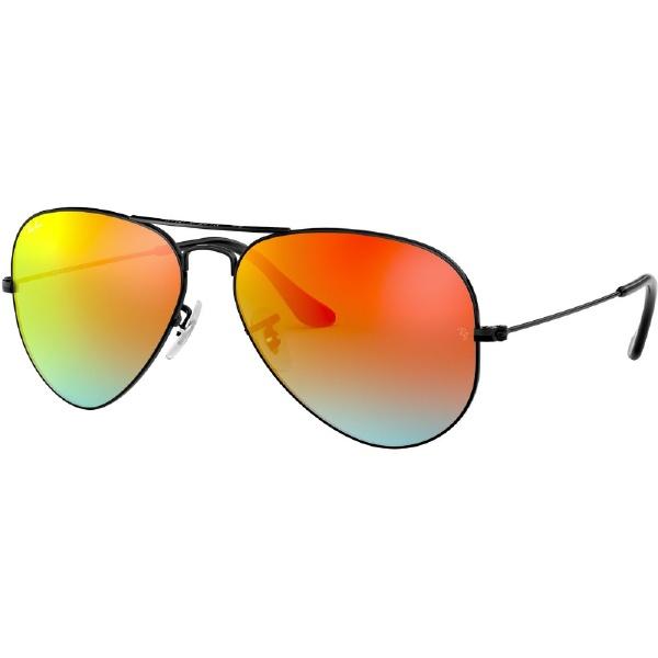 ray ban aviator gradient braun
