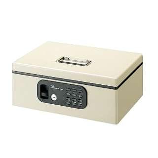 手提金庫 「FL型(電子ロック)CB-020FL-LGY M」 12-835 (エルグレー)