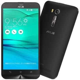 ZenFone GO Seriesブラック「ZB551KL-BK16」 Snapdragon 400 5.5型・メモリ/ストレージ:2GB/16GB microSIMx2 ドコモ/au/Ymobile SIM対応 SIMフリースマートフォン