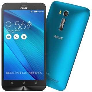 ZenFone GO Seriesブルー「ZB551KL-BL16」 Snapdragon 400 5.5型・メモリ/ストレージ:2GB/16GB microSIMx2 ドコモ/au/Ymobile SIM対応 SIMフリースマートフォン