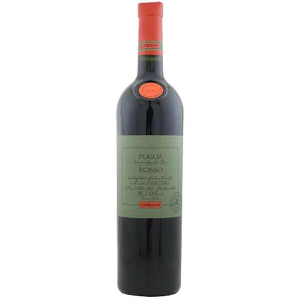 ジョルダーノ プーリア・ロッソ オーガニック 750ml【赤ワイン】