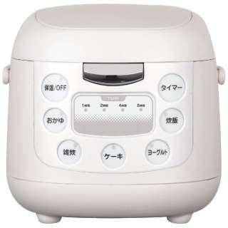 EB-RM6200K 炊飯器 ROOMMATE(ルームメイト) ホワイト [3.5合 /マイコン]