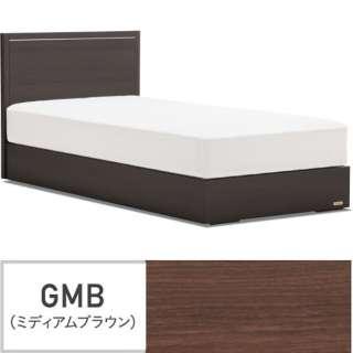 【フレームのみ】収納なし グランディ GR-01F-300SC[スノコ床板](セミダブルサイズ/ブラウン)【日本製】 フランスベッド 【受注生産につきキャンセル・返品不可】