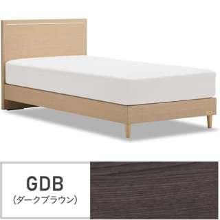 【フレームのみ】収納なし グランディ GR-01F-300LG[レッグ/スノコ床板](シングルサイズ/ダークブラウン)【日本製】 フランスベッド 【受注生産につきキャンセル・返品不可】
