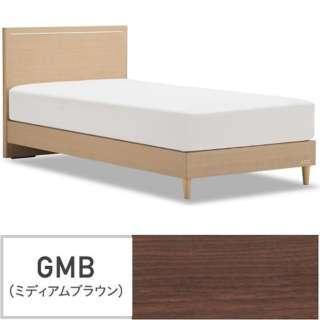 【フレームのみ】収納なし グランディ GR-01F-260LG[レッグ/スノコ床板](セミダブルサイズ/ブラウン)【日本製】 フランスベッド 【受注生産につきキャンセル・返品不可】
