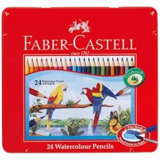 [水彩色鉛筆] ファーバーカステル 水彩色鉛筆 24色セット TFC-WCP/24C