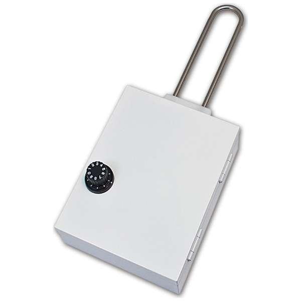 VSB-001 ハンガー式隠し金庫 シークレットボックス ホワイト [ダイヤル式]