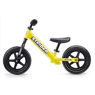 【店舗販売のみ】12型 ランニングバイク ストライダー Sports Model(イエロー) 427446