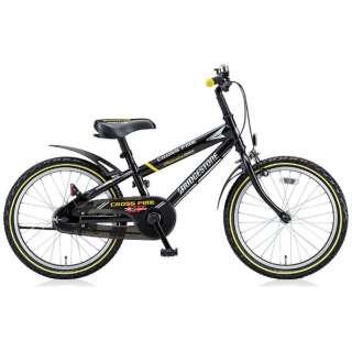 18型 幼児用自転車 クロスファイヤーキッズ スポーツ(ブラック/シングルシフト) CKS186 【組立商品につき返品不可】