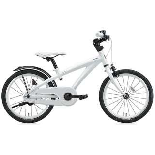 18型 幼児用自転車 レベナ(ホワイト/シングルシフト) LV186 【組立商品につき返品不可】