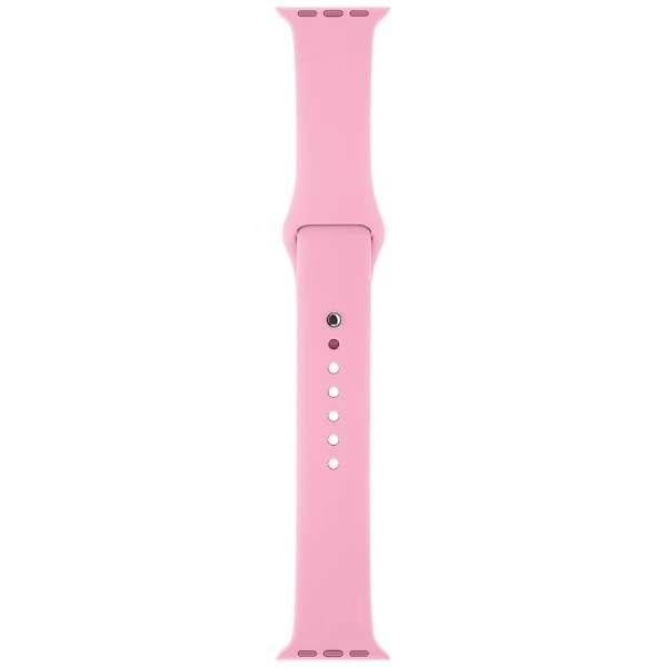 Apple Watch 38mm ケース用 ライトピンクスポーツバンド MM902FE/A
