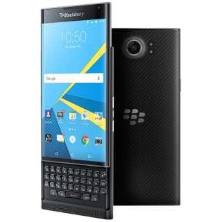 BlackBerry PRIV ブラック 「PRD-60028-037」 ・5.4型・メモリ/ストレージ:3GB/32GB nanoSIMx1 ドコモ/ソフトバンクSIM対応 SIMフリースマートフォン