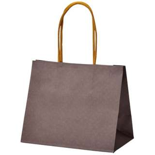 [ラッピング] 手提げバッグ テミニン ブラウン 50-6032