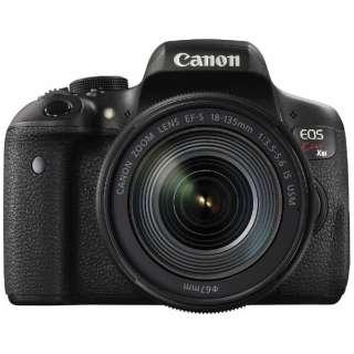 EOS Kiss X8i デジタル一眼レフカメラ EF-S18-135 IS USM レンズキット [ズームレンズ]