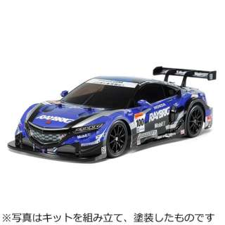 1/10 電動RCカーシリーズ No.599 RAYBRIG NSX CONCEPT-GT(TT-02シャーシ)【TT02】