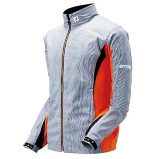 メンズ ジャケット ハイドロライトレインジャケット(Lサイズ/スチールグレー×ホワイト)#85362