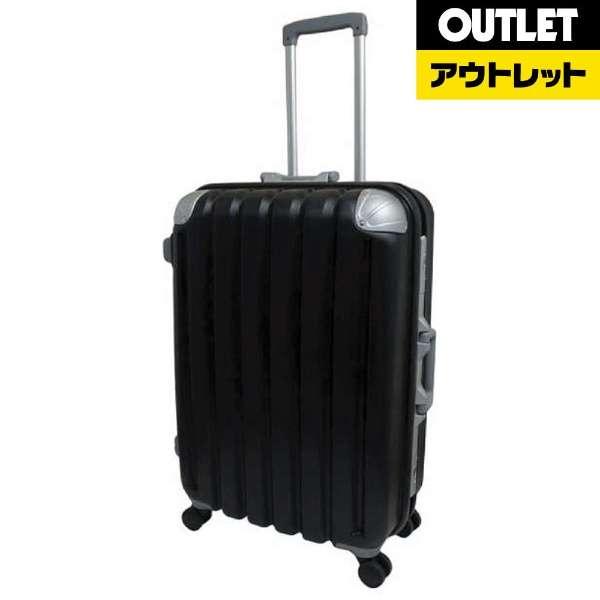 【アウトレット品】スーツケース ハードキャリーケース 80L 【外装不良品】 ブラック KO-0683-66 [TSAロック搭載]