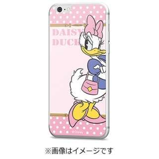 iPhone 6s/6用 Disney背面ガラス デイジーダック ドット GLASS6-71448