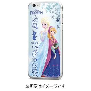 iPhone 6s/6用 Disney背面ガラス アナと雪の女王 GLASS6-71450