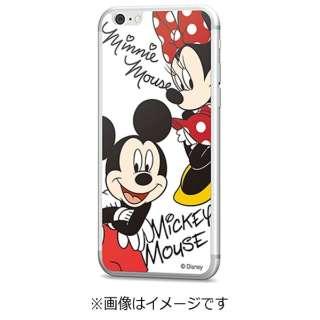 iPhone 6s/6用 Disney背面ガラス ミッキー&ミニー GLASS6-71451