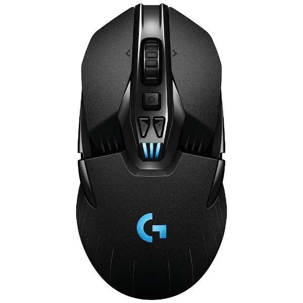 G900 ゲーミングマウス Gシリーズ ブラック [光学式 /11ボタン /USB /有線/無線(ワイヤレス)]
