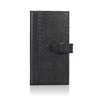 iPhone 6s/6用 手帳型 SNAKEBOOK ブラック TUN-PH-000374