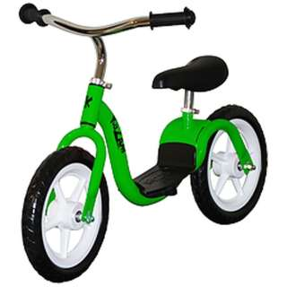 12型 ランニングバイク KaZAMランバイク V2S(グリーン) V2SEGR【EVAタイヤ】 【組立商品につき返品不可】