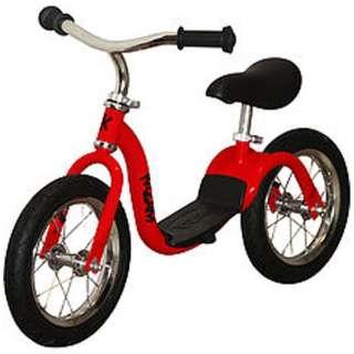 12型 ランニングバイク KaZAMランバイク V2S(レッド) V2SRD【ワイヤースポーク】 【組立商品につき返品不可】