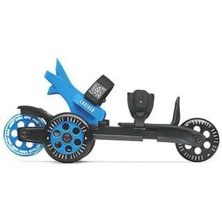 ローラースケート Cardiff スケート クルーザーS(ブラック×ブルー) CS-001