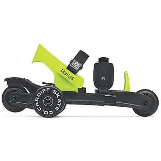 ローラースケート Cardiff スケート クルーザーユース(ライム) KL-001