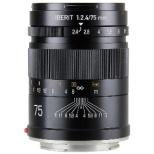 カメラレンズ 75mm F2.4 IBERIT(イベリット) ブラック [ソニーE /単焦点レンズ]