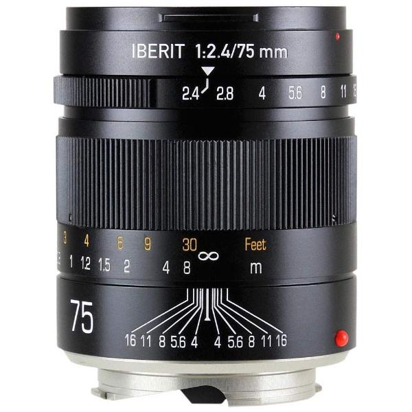 IBERIT 75mm f/2.4 ブラック [ライカM用]