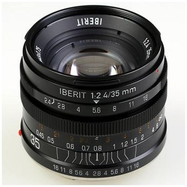IBERIT 35mm f/2.4 ブラック [ソニーE用]