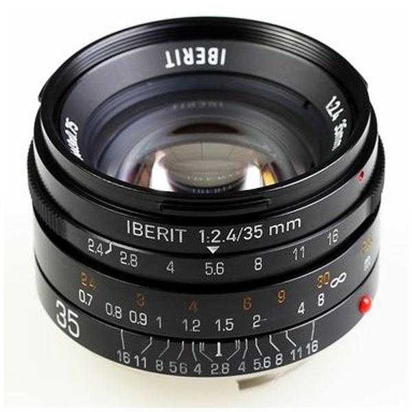 IBERIT 35mm f/2.4 ブラック [ライカM用]