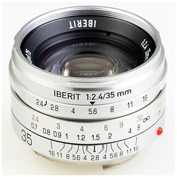 IBERIT 35mm f/2.4 シルバー [ライカM用]