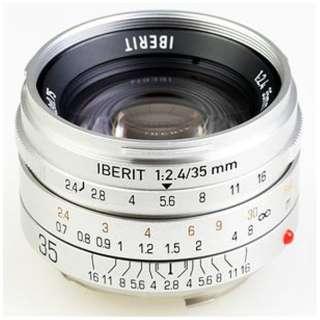 カメラレンズ 35mm/f2.4 IBERIT(イベリット) シルバー [ライカM /単焦点レンズ]