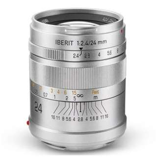 カメラレンズ 24mm/f2.4 IBERIT(イベリット) シルバー [ソニーE /単焦点レンズ]