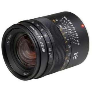 カメラレンズ 24mm/f2.4 IBERIT(イベリット) ブラック [ライカL /単焦点レンズ]