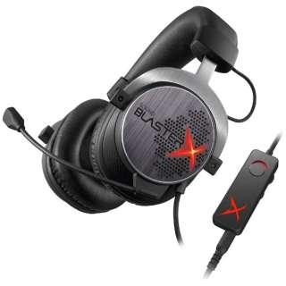 SBX-H7 ゲーミングヘッドセット Sound BlasterX [φ3.5mmミニプラグ+USB /両耳 /ヘッドバンドタイプ]