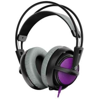 51136 ゲーミングヘッドセット Siberia 200 パープル [φ3.5mmミニプラグ /両耳 /ヘッドバンドタイプ]