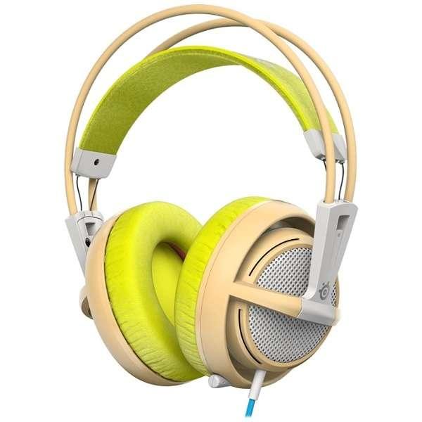 51137 ゲーミングヘッドセット Siberia 200 グリーン [φ3.5mmミニプラグ /両耳 /ヘッドバンドタイプ]