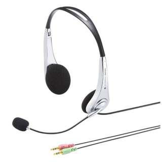 MM-HS509NCN ヘッドセット [φ3.5mmミニプラグ /両耳 /ヘッドバンドタイプ]