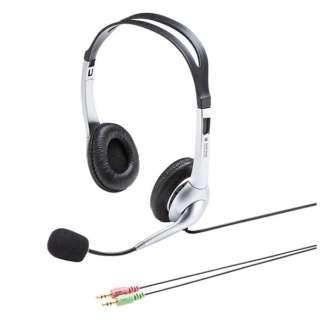 MM-HS507NCN ヘッドセット [φ3.5mmミニプラグ /両耳 /ヘッドバンドタイプ]