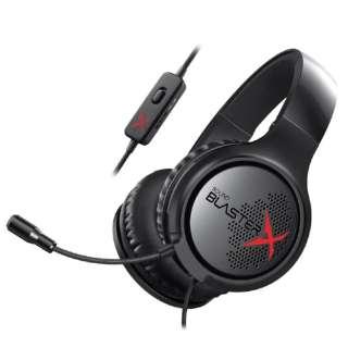 SBX-H3 アナログゲーミングヘッドセット Sound BlasterX H3 Sound BlasterX [φ3.5mmミニプラグ /両耳 /ヘッドバンドタイプ]