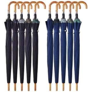 【傘】メンズ長傘 プレミアムエアフォースOne EFOP-1L60-UJ(UV加工/超撥水加工) 60cm【色指定不可】