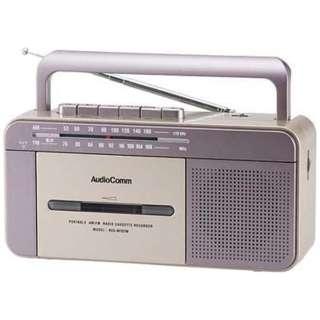RCS-M707M ラジカセ [ワイドFM対応 /カセットラジカセ]