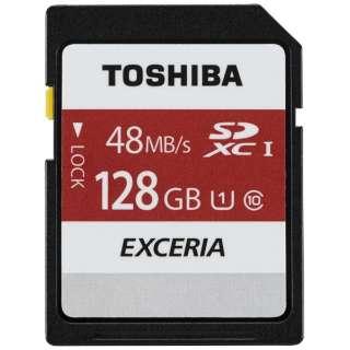 SDXCカード EXCERIA(エクセリア)SD-FUシリーズ SD-FU128G [128GB /Class10]